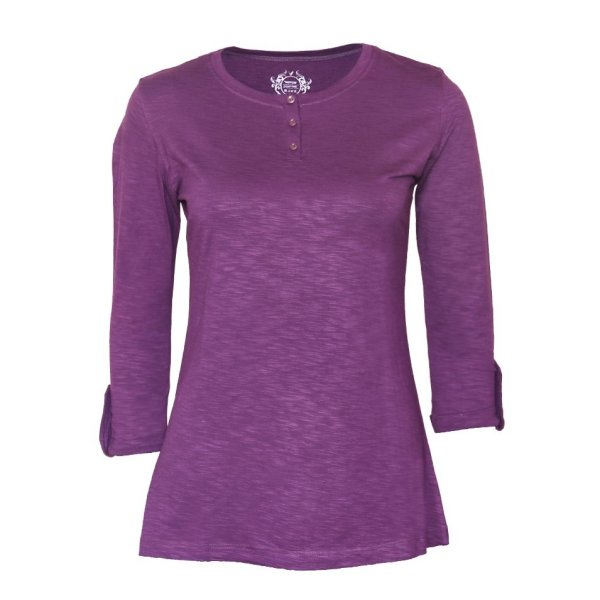 تیشرت زنانه ویستور کد 575-10 رنگ بنفش