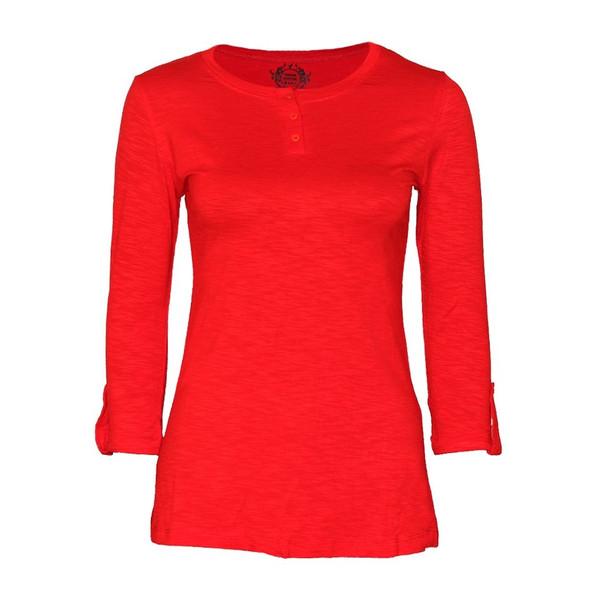 تیشرت زنانه ویستور کد 575-10 رنگ قرمز