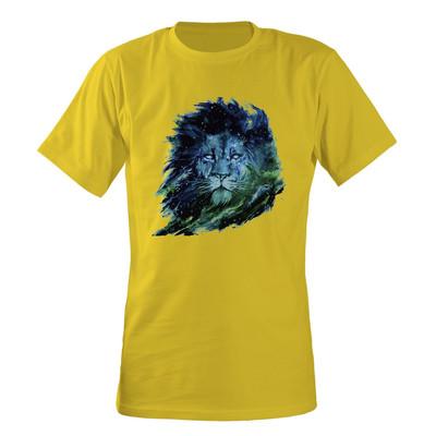 تصویر تی شرت مردانه مسترمانی طرح شیر کد 1523