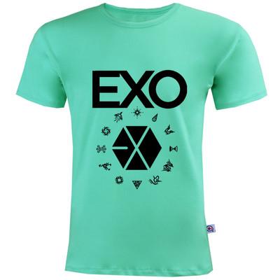 تصویر تی شرت مردانه آکو طرح اکسو کد SC59