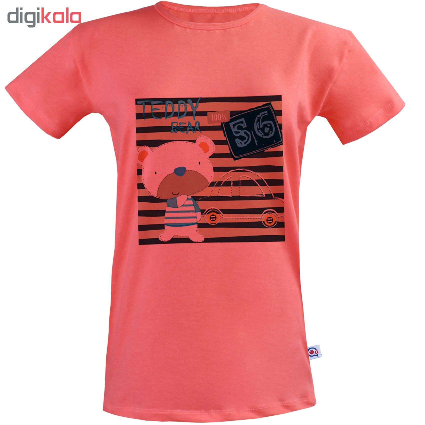 تی شرت نه آکو طرح خرسی کد SG121