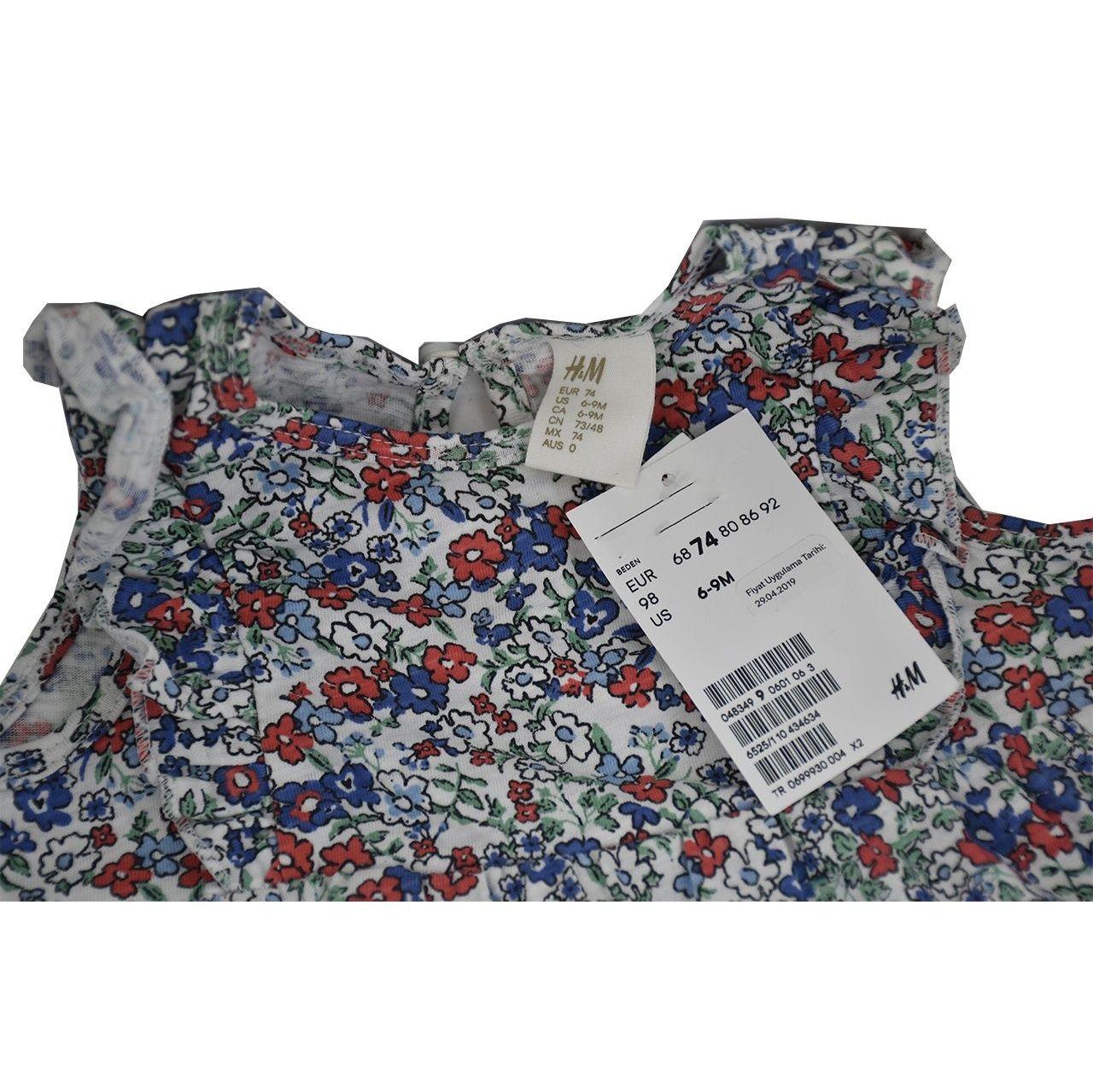 پیراهن دخترانه اچ اند ام مدل L1621 main 1 1