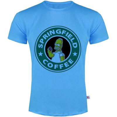 تصویر تی شرت مردانه آکو طرح سیمسون کد SA73