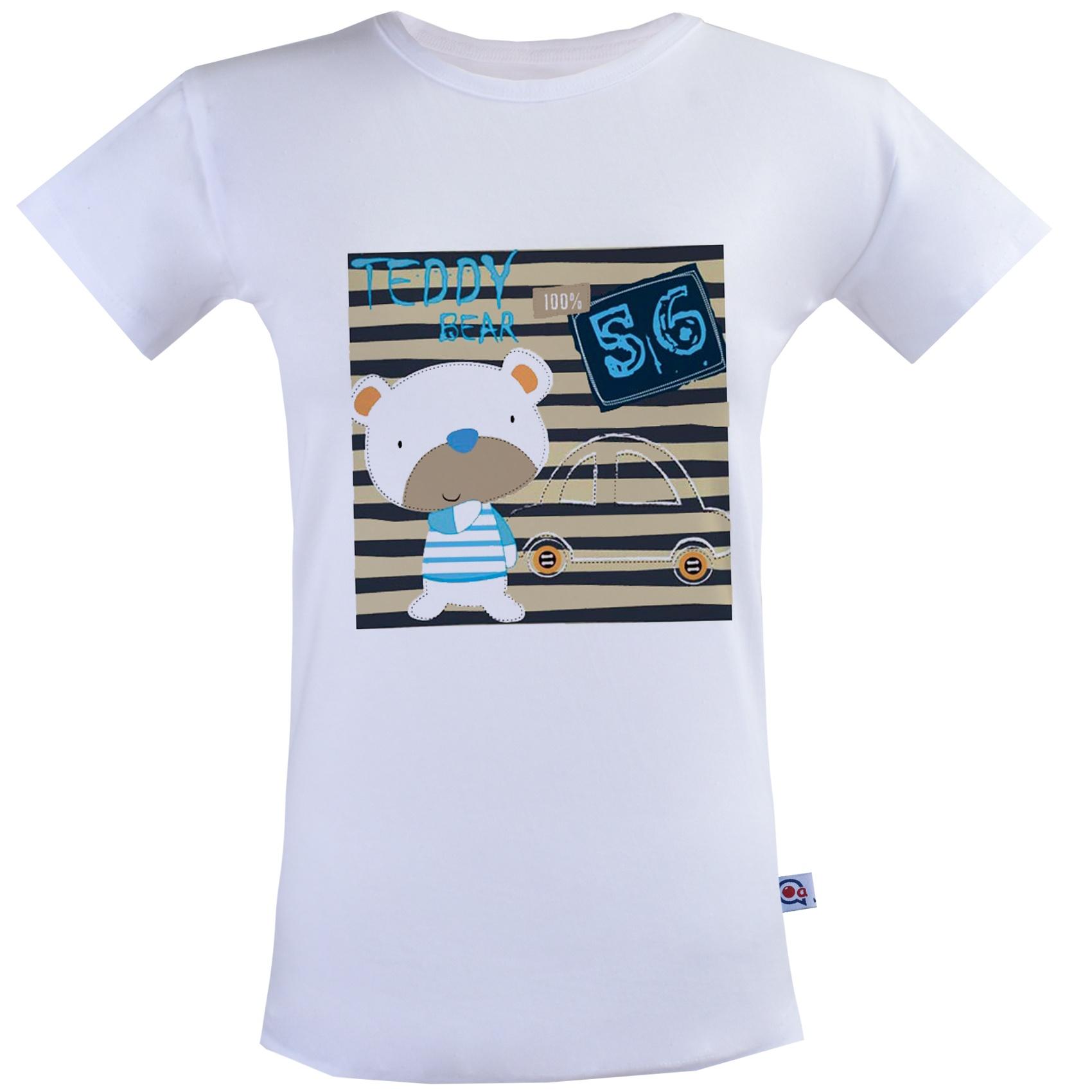 تی شرت نه آکو طرح خرسی کد SS121