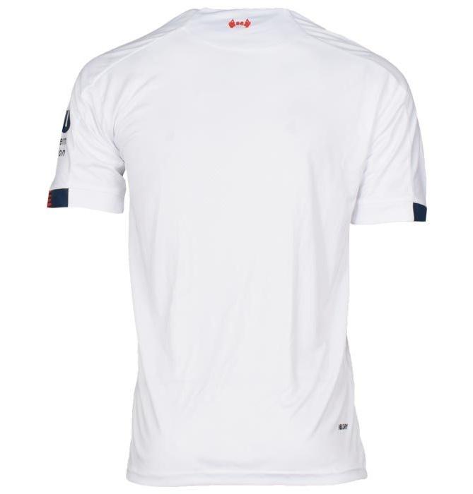 تیشرت ورزشی مردانه طرح لیورپول کد away1920 رنگ سفید