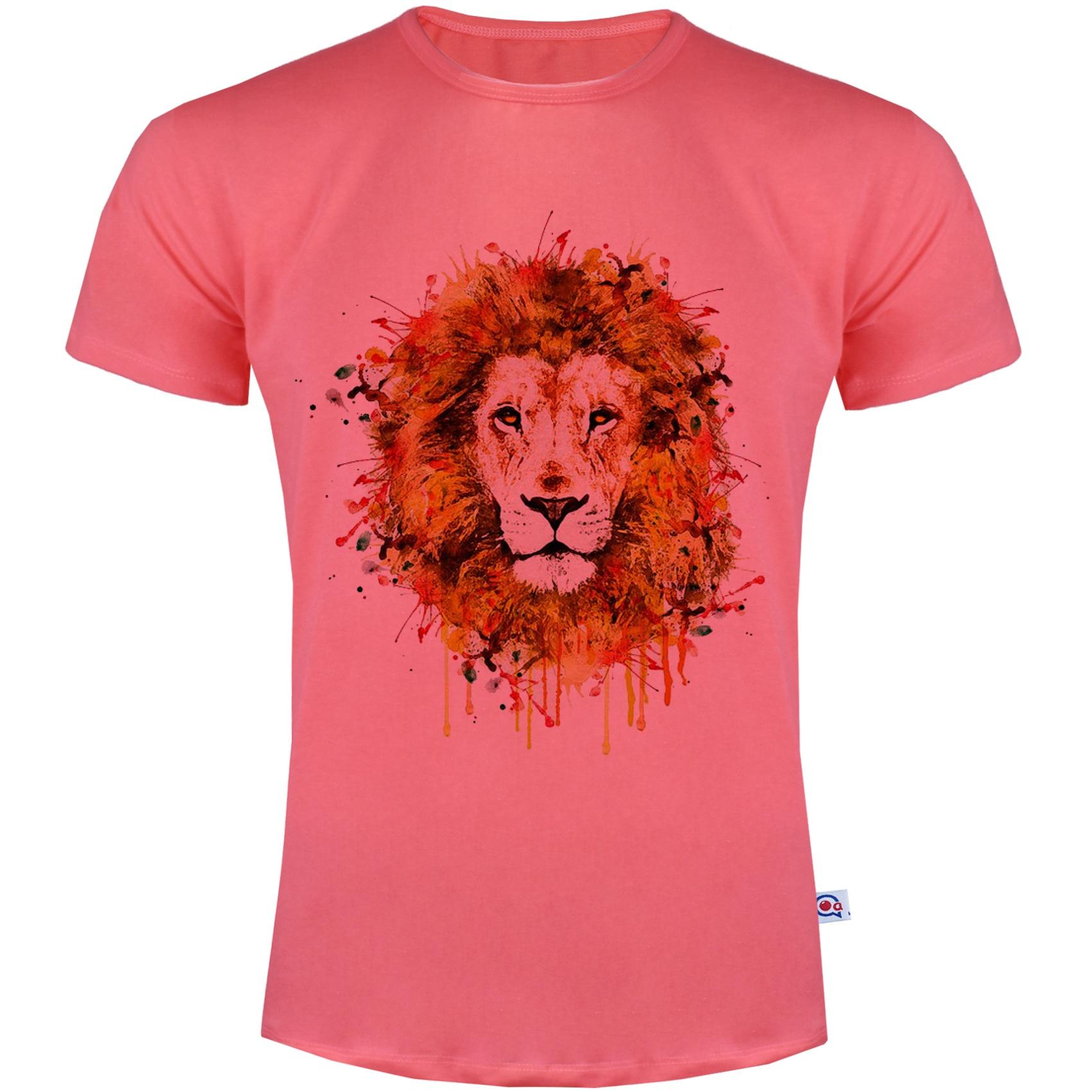 Photo of تی شرت مردانه آکو طرح شیر کد SG71