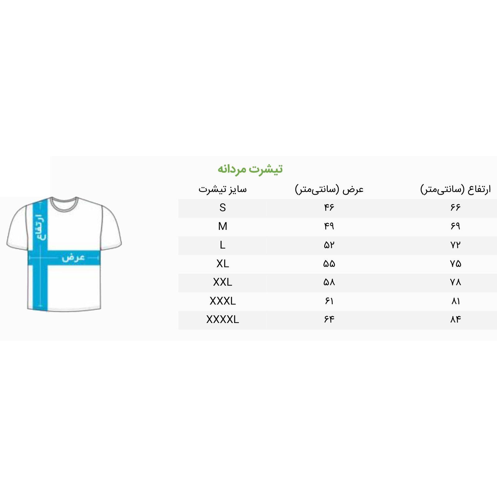 تی شرت مردانه آریوس مدل CSRBMB-Blank-106 main 1 6