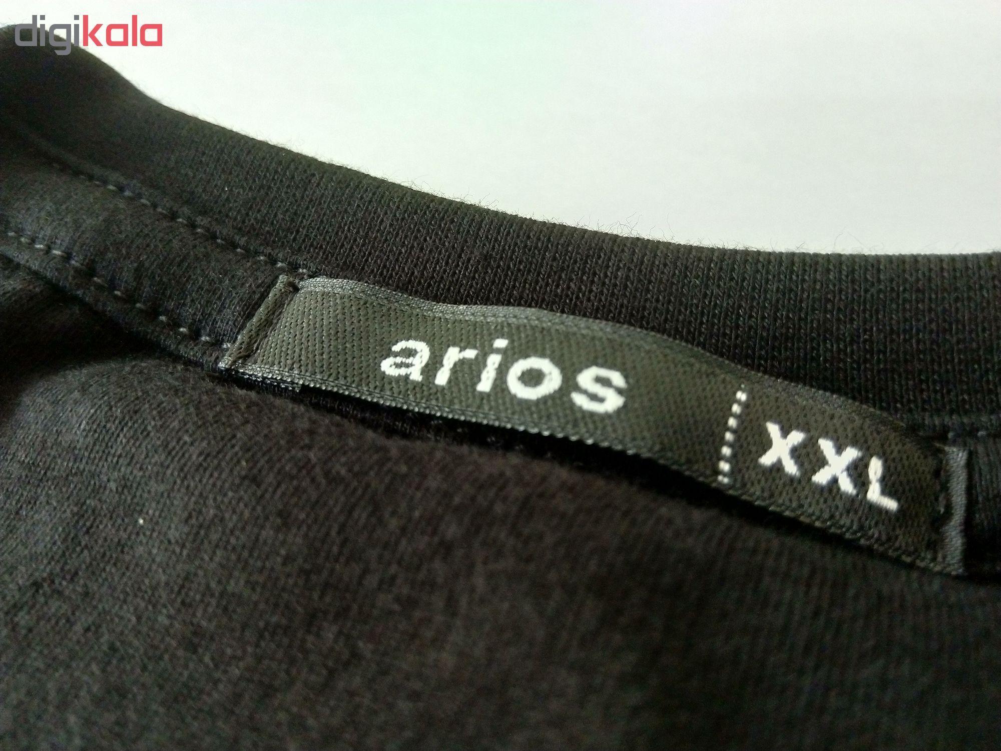 تی شرت مردانه آریوس مدل CSRBMB-Blank-106