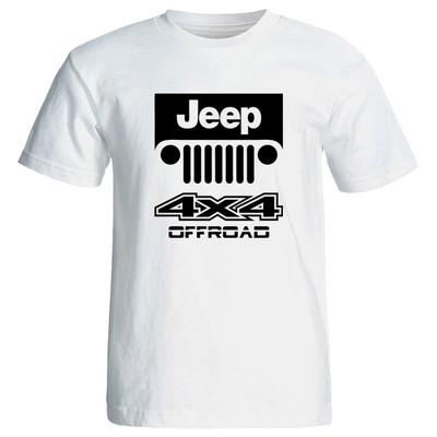 تی شرت آستین کوتاه مردانه طرح Jeep Off road کد 205