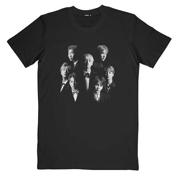 تی شرت مردانه آریوس طرح BTS کد CSRBMD-105