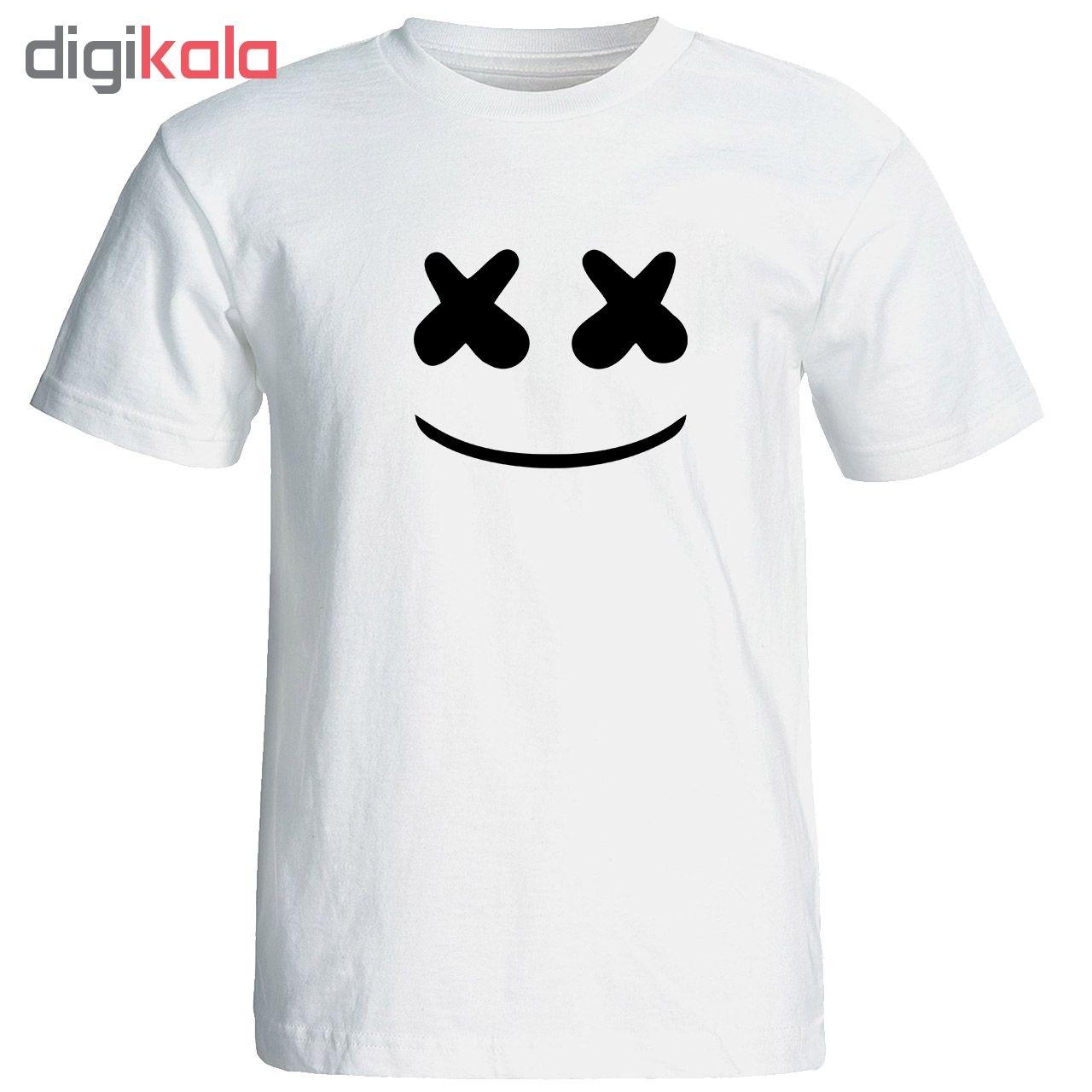 تی شرت مردانه طرح مارشملو کد 17330 main 1 1