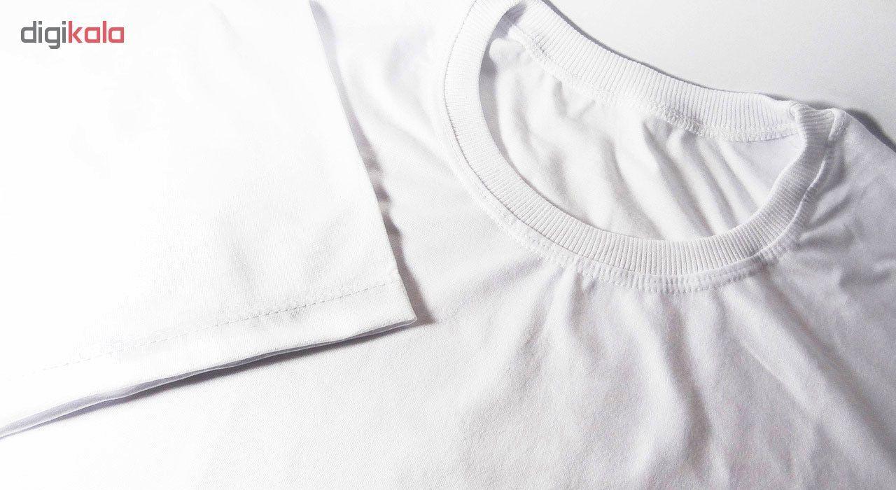 تی شرت مردانه طرح مارشملو کد 17330 main 1 3