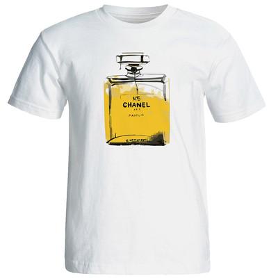 تی شرت زنانه طرح ادکلن کد 17343