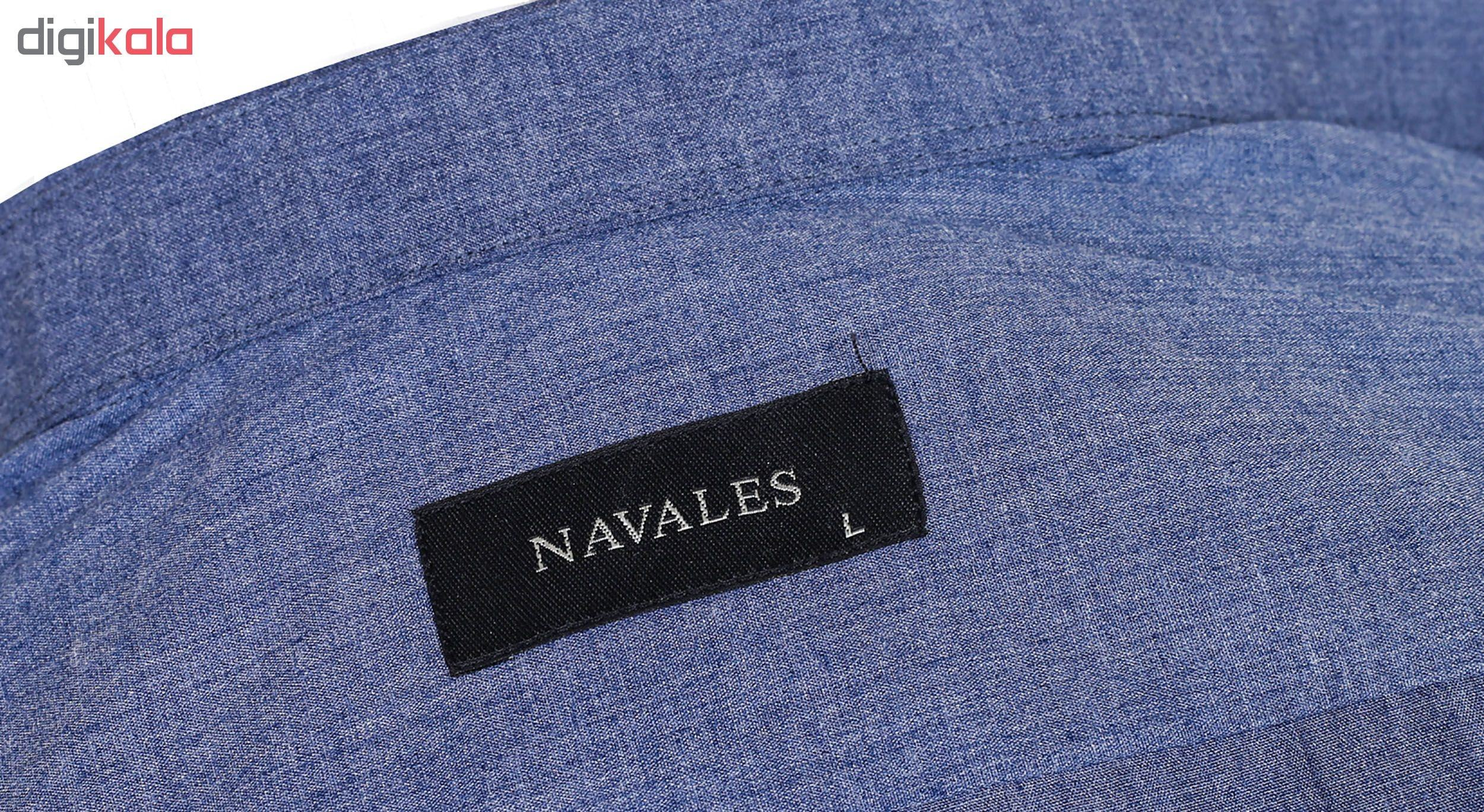 پیراهن مردانه ناوالس مدل regularfit2019_nv main 1 3