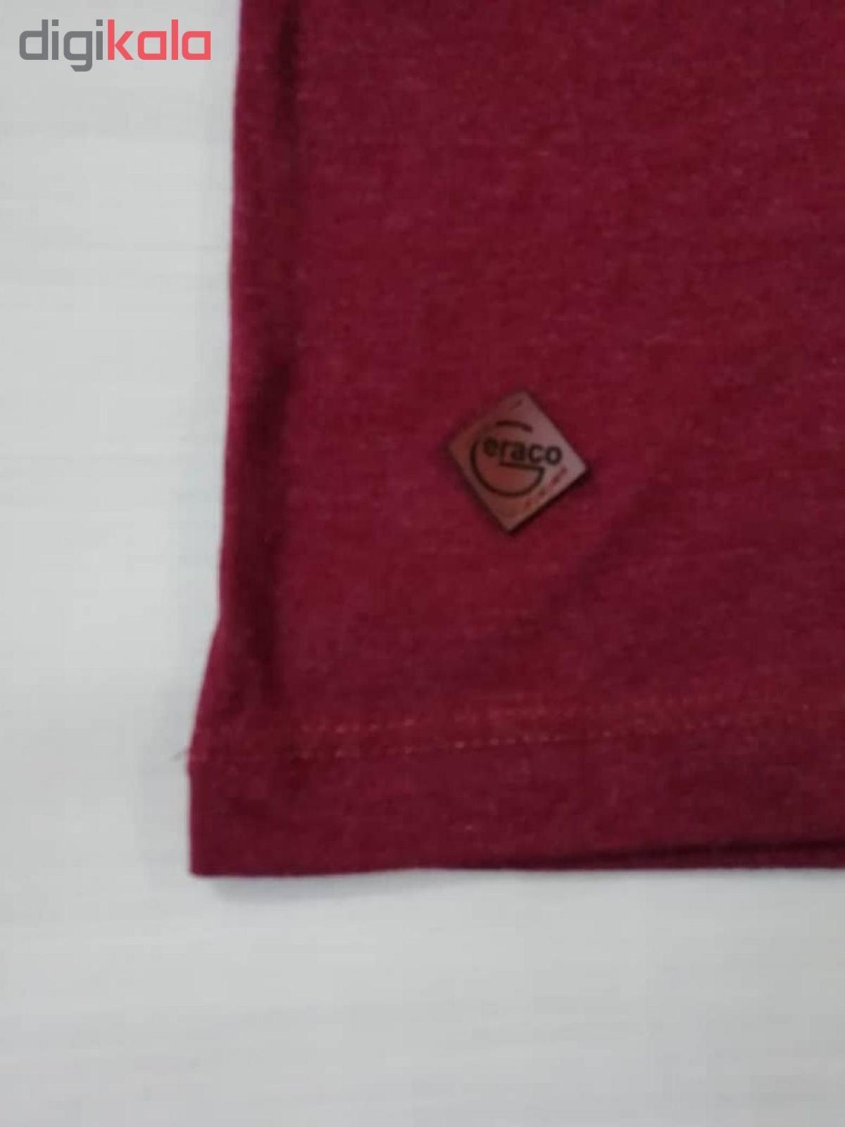 ست تی شرت و شلوارک پسرانه گراکو طرح موتور کد 118 main 1 8