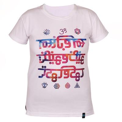 تی شرت آستین کوتاه زنانه مدل یوگا