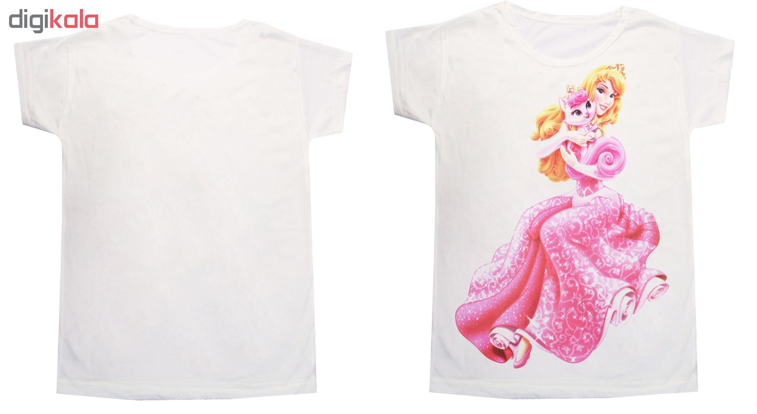 تی شرت دخترانه کد D001