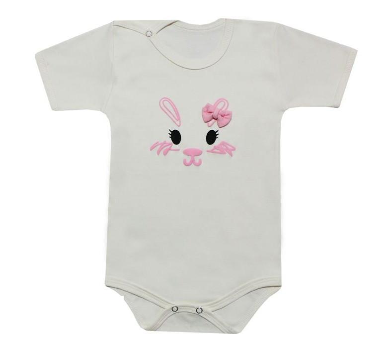 ست 4 تکه لباس نوزادی دخترانه طرح خرگوش کد 12-41