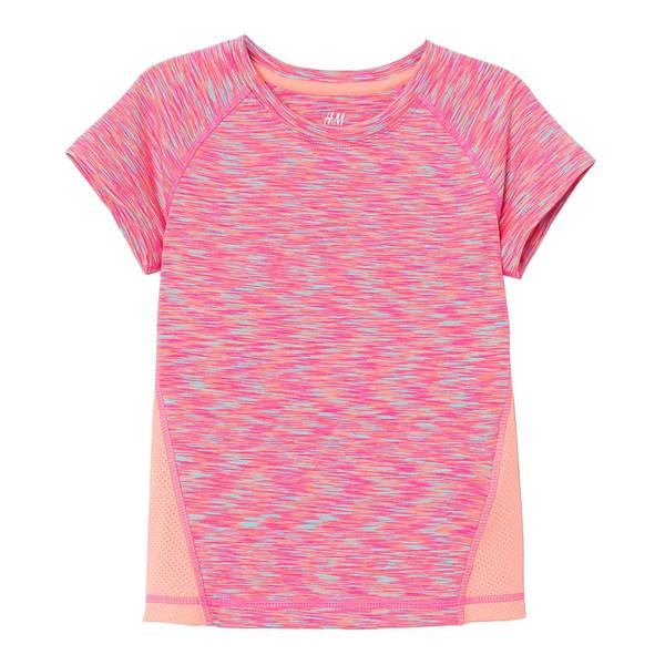 تی شرت دخترانه اچ اند ام  کد 1727170