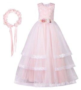 پیراهن دخترانه مدل Princess Rose Style