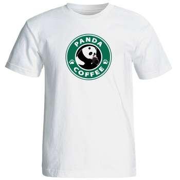 تی شرت زنانه طرح پاندا کد 17337