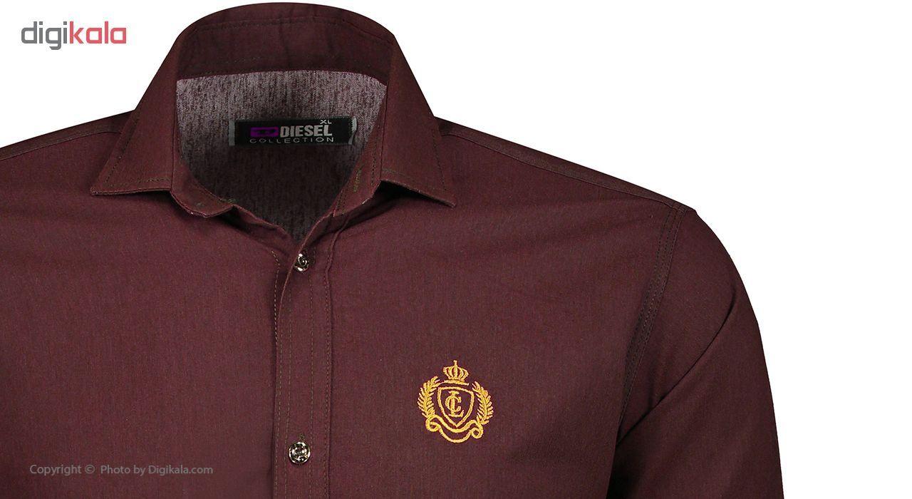 پیراهن مردانه مدل P.baz.209 main 1 4