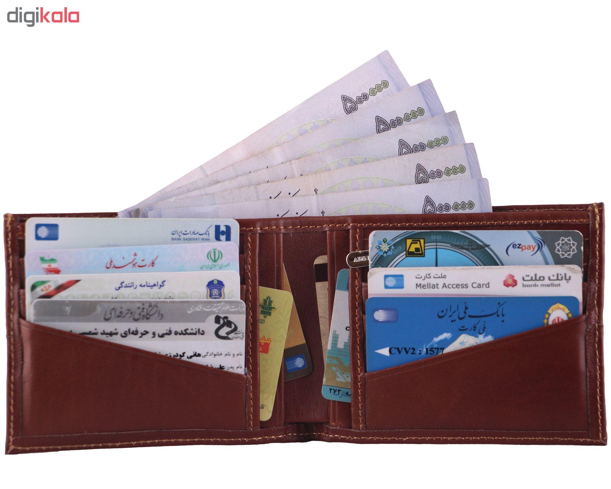 کیف پول مردانه آدین چرم کد DM78 main 1 4