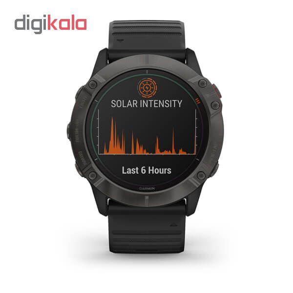 ساعت هوشمند گارمین مدل fenix 6x solar