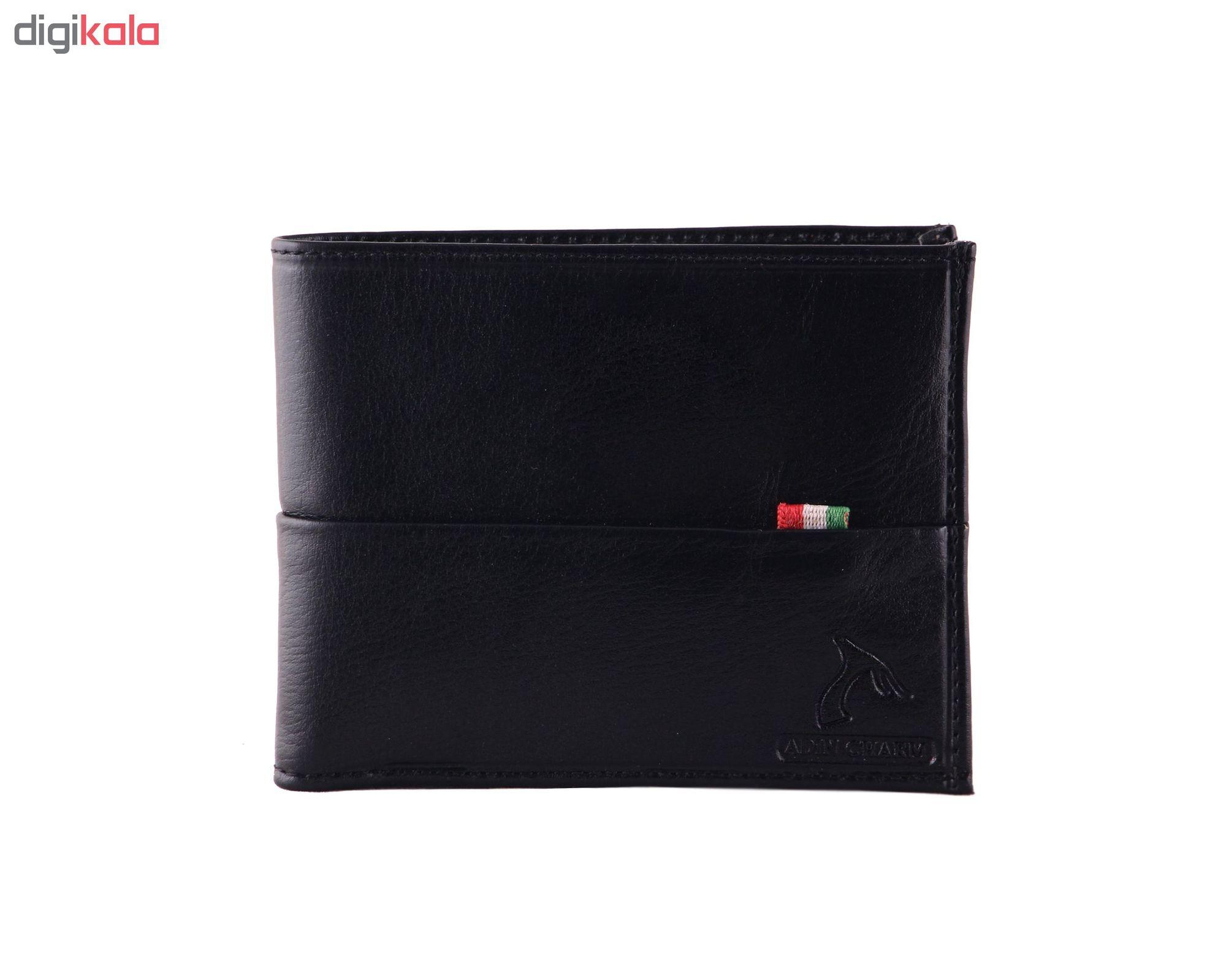 کیف پول مردانه آدین چرم کد DM78 main 1 9