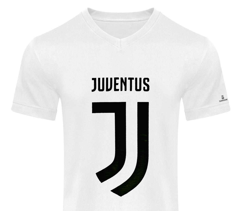 تصویر تی شرت مردانه ساروک طرح یوونتوس کد 01