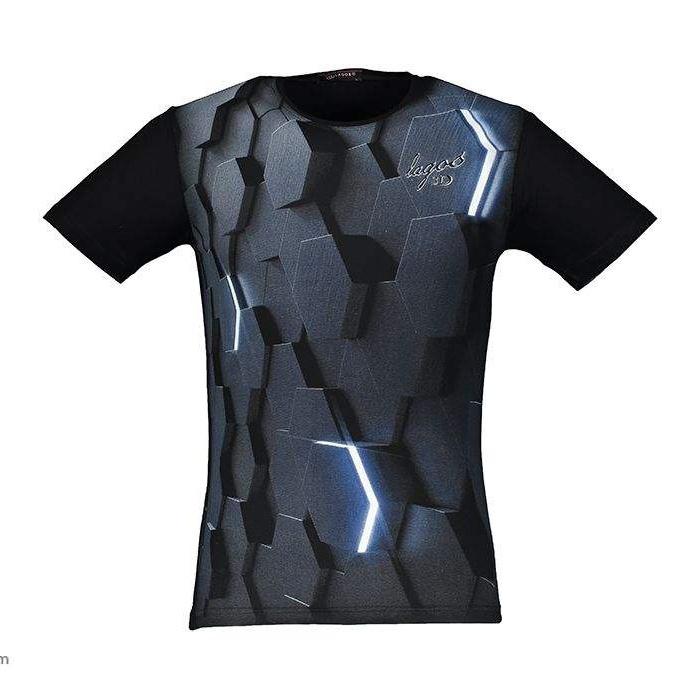 تی شرت پسرانه طرح سه بعدی