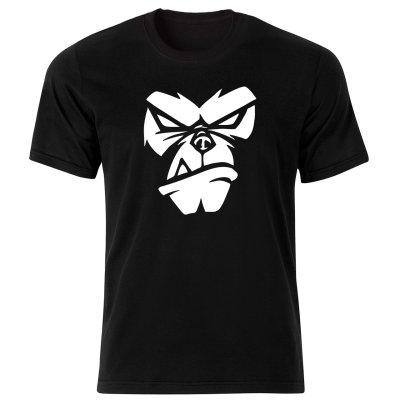 تصویر تی شرت مردانه طرح میمون کد 34167