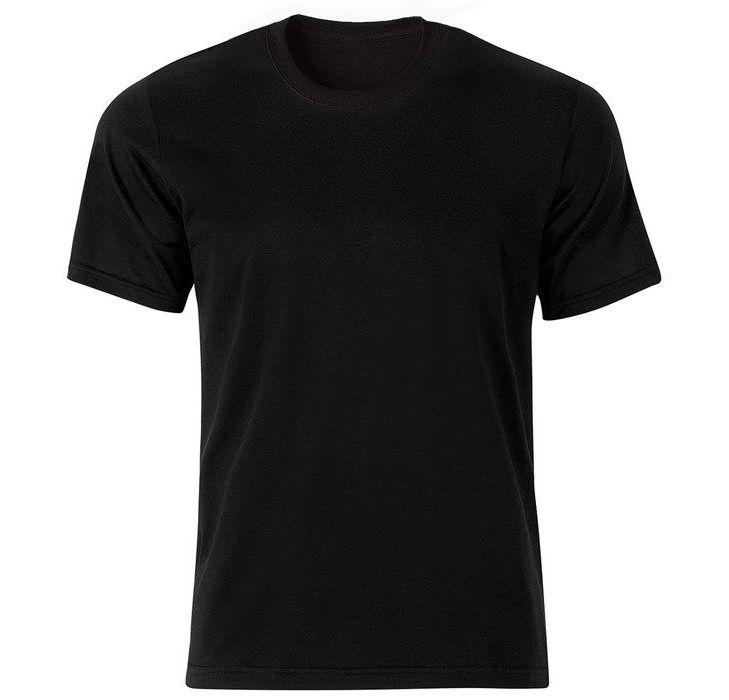 تیشرت آستین کوتاه مردانه کد 350 رنگ مشکی main 1 1