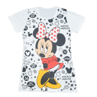 تی شرت زنانه طرح میکی موس کد 001