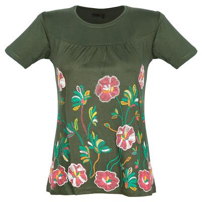 تی شرت زنانه ناندو استایل مدل NS34