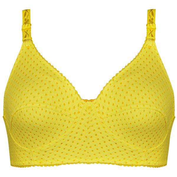 سوتین زنانه کد 1131-5 رنگ زرد