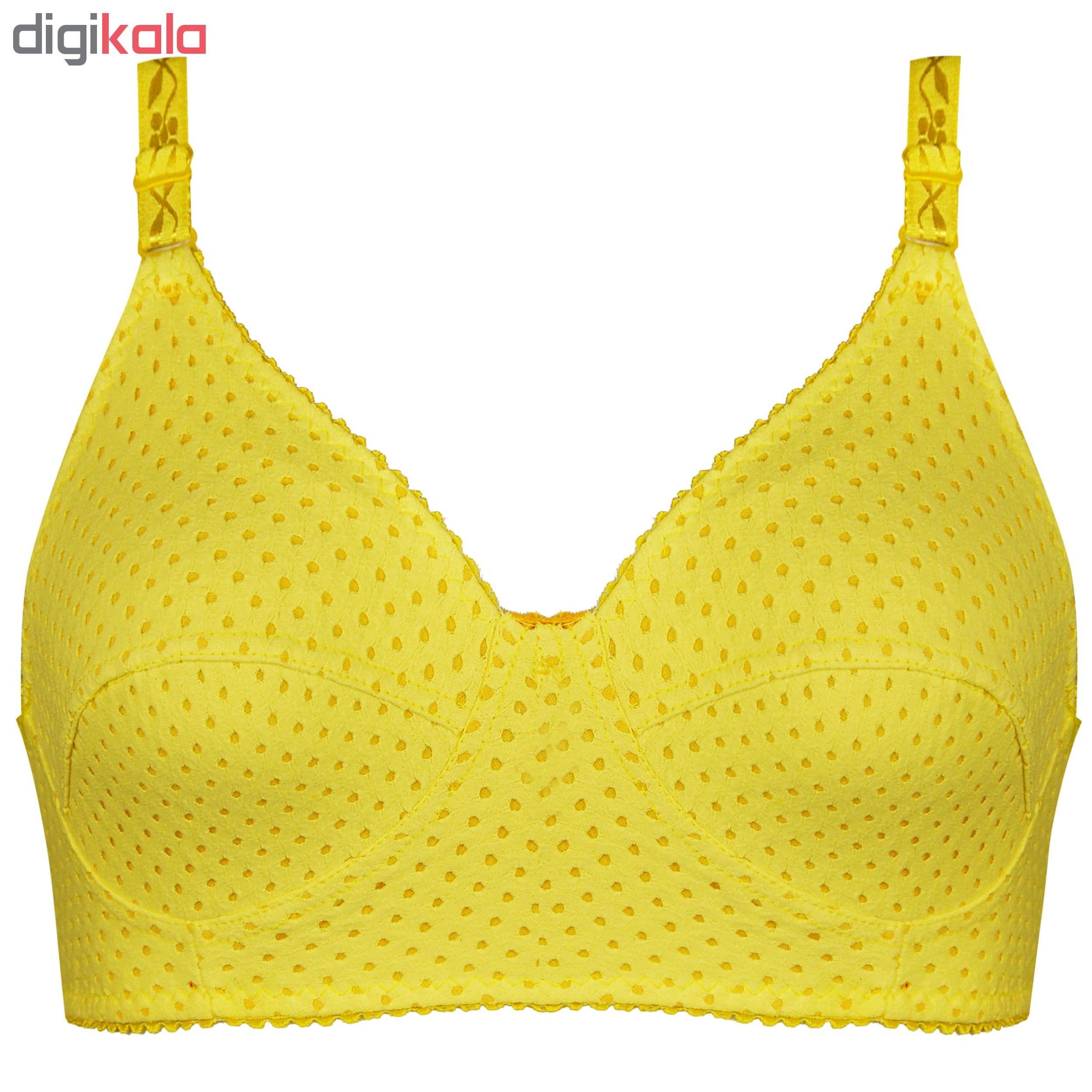 سوتین زنانه کد 1131-5 رنگ زرد main 1 1