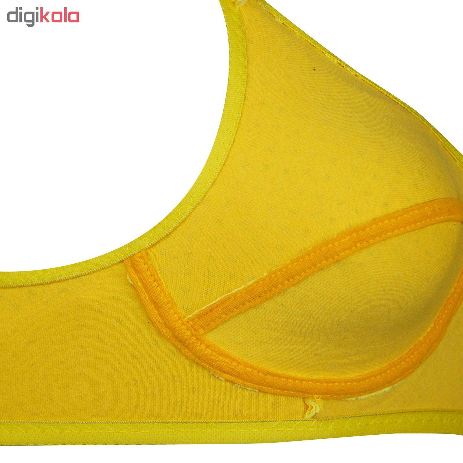 سوتین زنانه کد 1131-5 رنگ زرد main 1 4