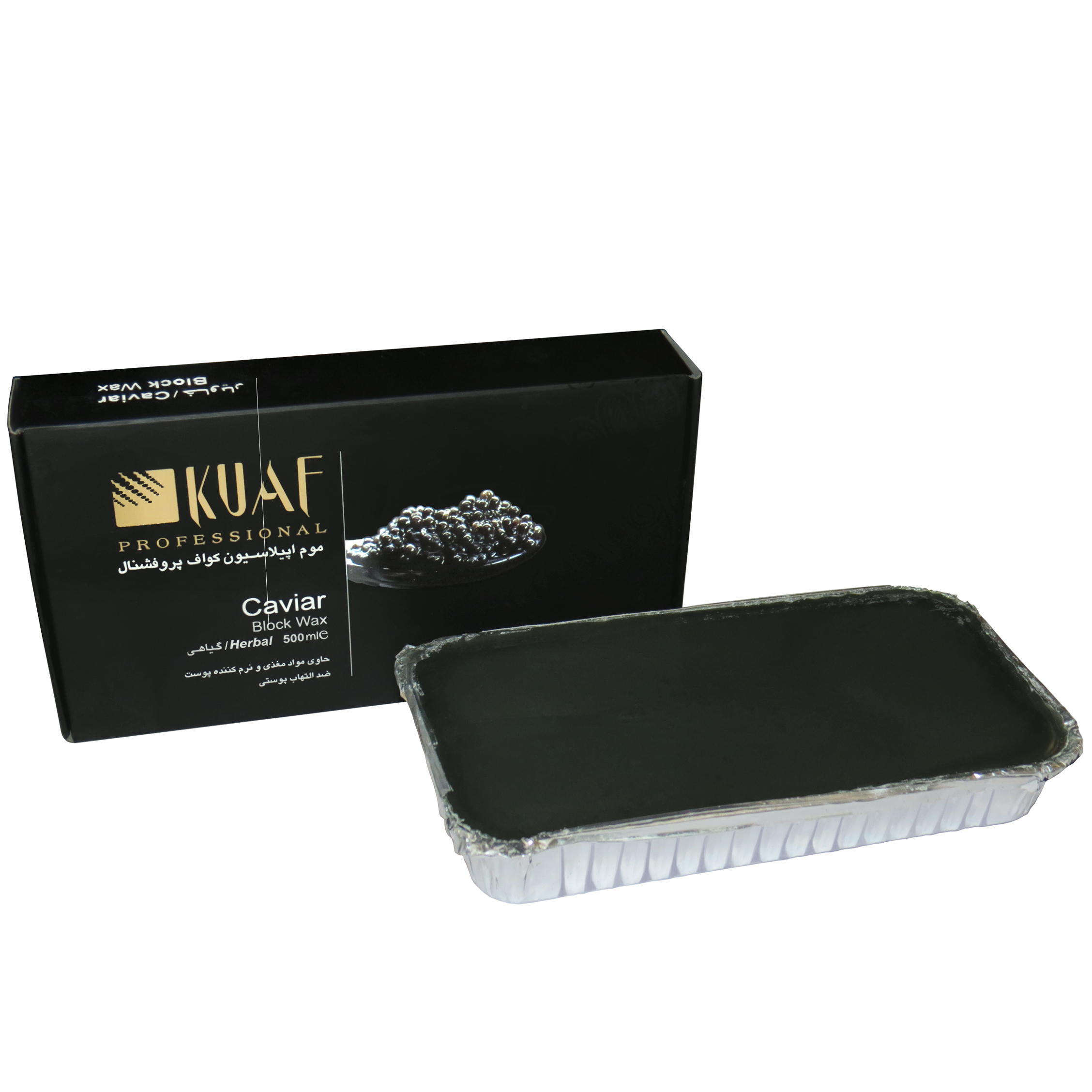 خرید                      وکس موبر کواف مدل Caviar حجم 500 میلی لیتر              ✅