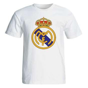 تی شرت آستین کوتاه مردانه طرح رئال مادرید کد 35006