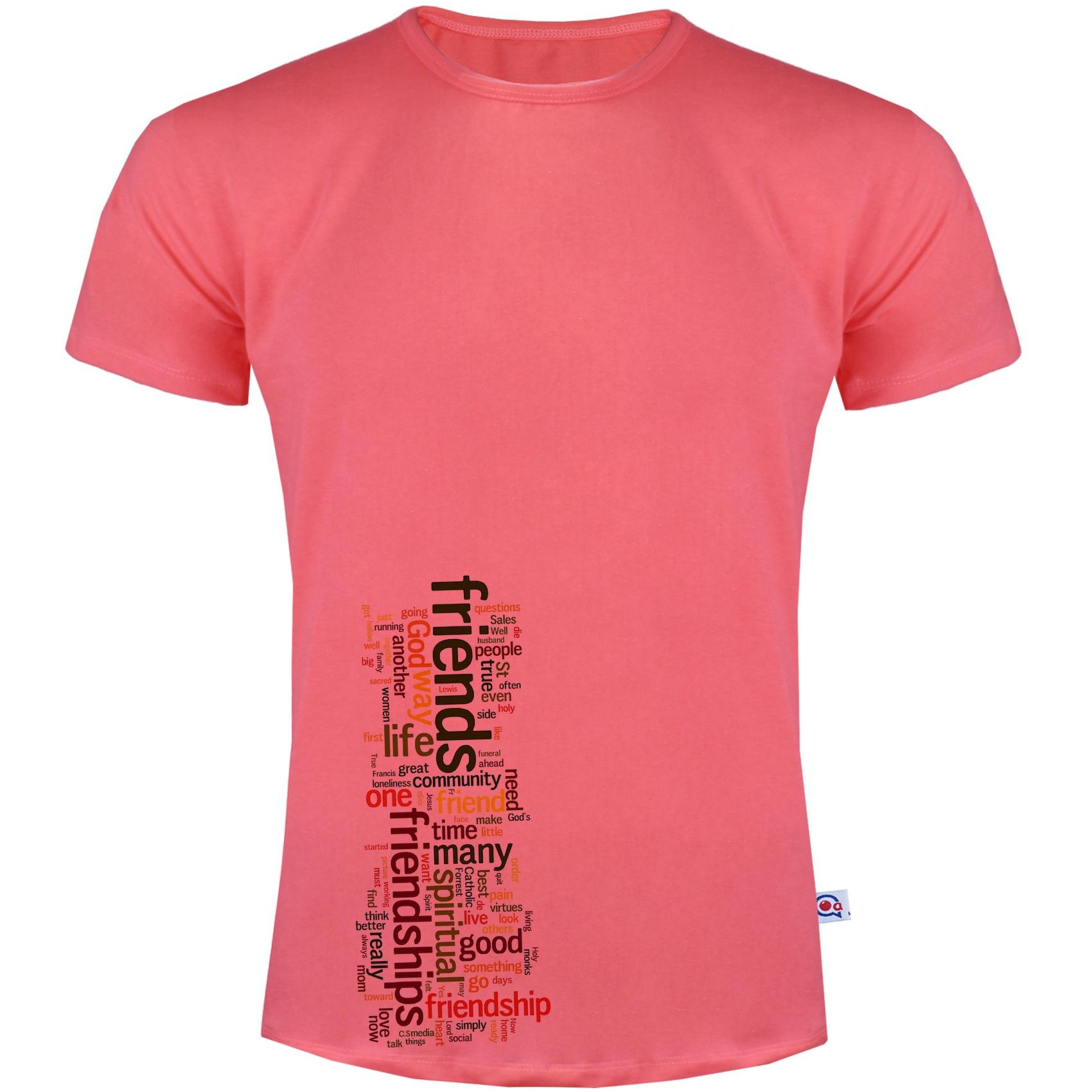 تی شرت مردانه آکو طرح FRIENDS کد SG96
