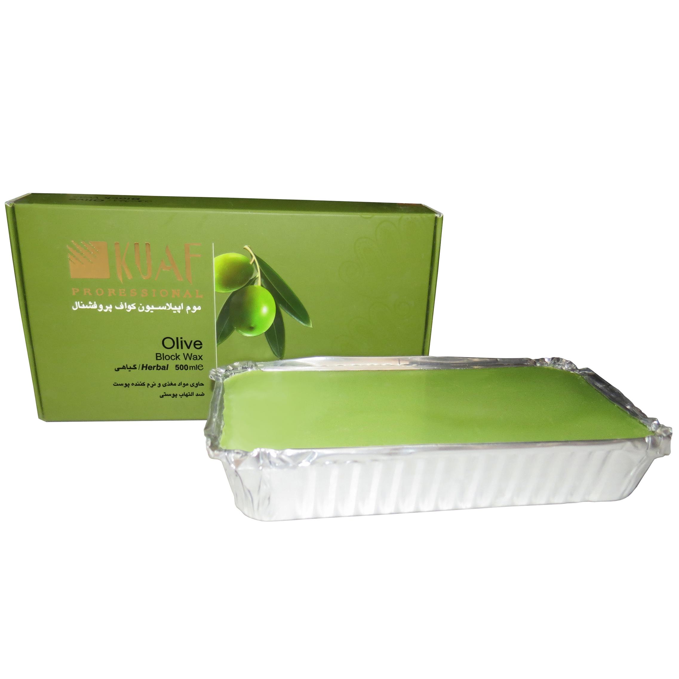خرید                      وکس موبر کواف مدل Olive حجم 500 میلی لیتر              ✅