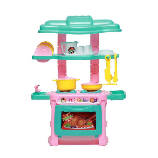 اسباب بازی اجاق گاز آشپزخانه مدل Mini kitchen 47PC
