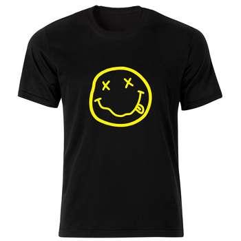 تی شرت مردانه طرح نیروانا کد 34155