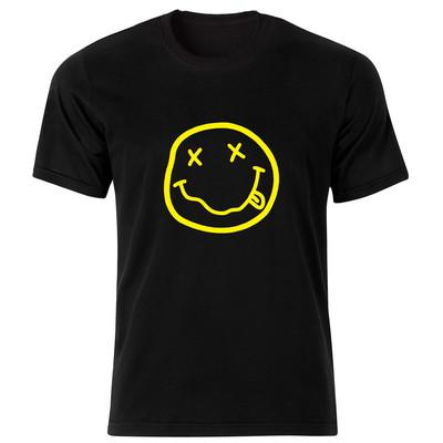Photo of تی شرت مردانه طرح نیروانا کد 34155