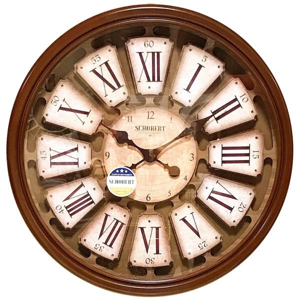 ساعت دیواری شوبرت مدل 6425