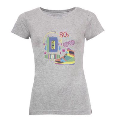 تصویر تیشرت زنانه طرح واکمن کد 5925