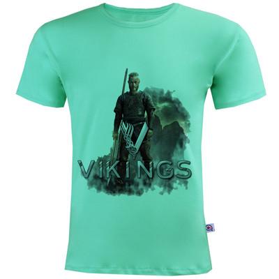 تی شرت مردانه آکو طرح vikings کد SC101