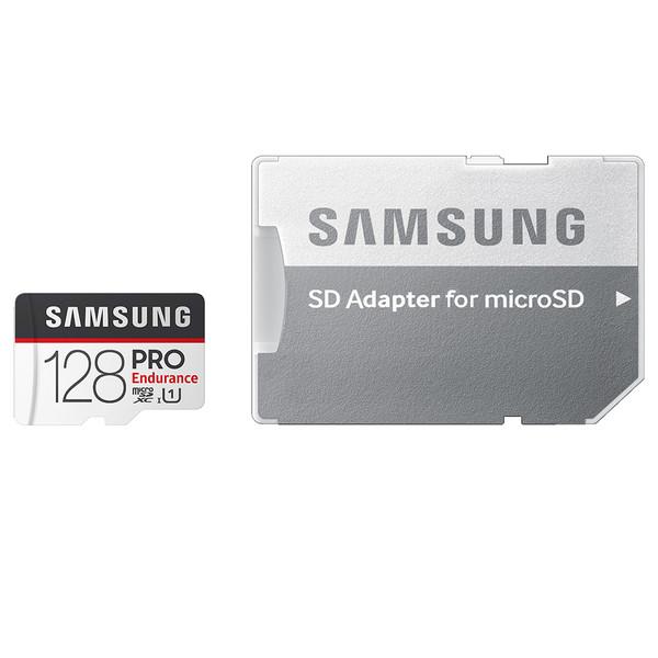 کارت حافظه microSDXC سامسونگ مدل PRO Endurance کلاس 10 استاندارد UHS-I U1 سرعت 80MBps ظرفیت 128 گیگابایت به همراه آداپتور SD