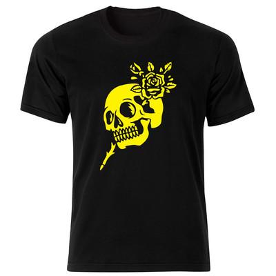 تصویر تی شرت مردانه طرح اسکلت کد 34191
